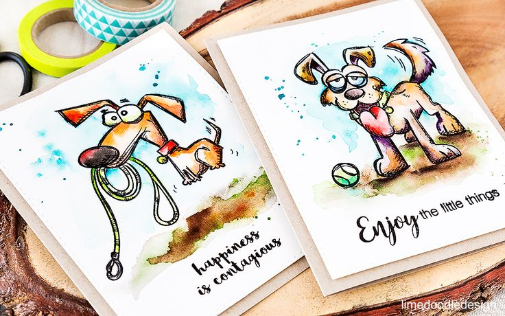 Things are getting crazy around here with Tim Holtz's Crazy Dogs! Find out more by clicking on the following link:…