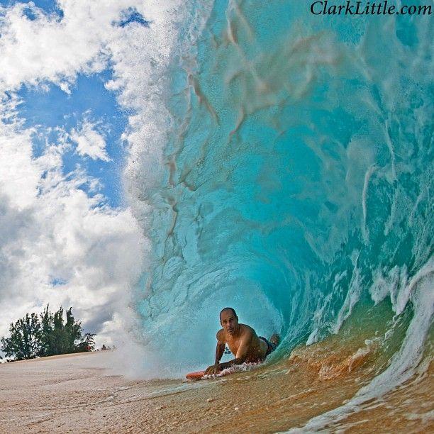 enter the green room #bodysurf #bodysurfing #handboards www.slydhandboards.com