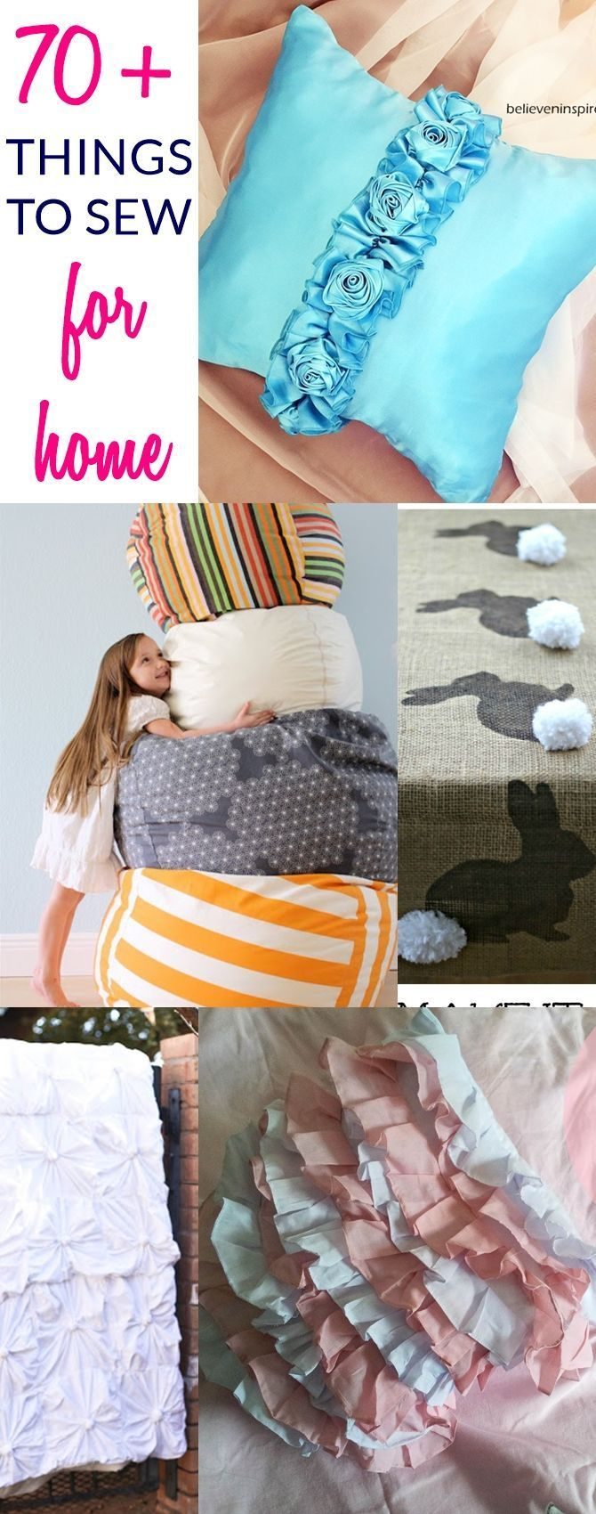 easy sewing patterns for beginners, easy things to make at home, sew for home, s…