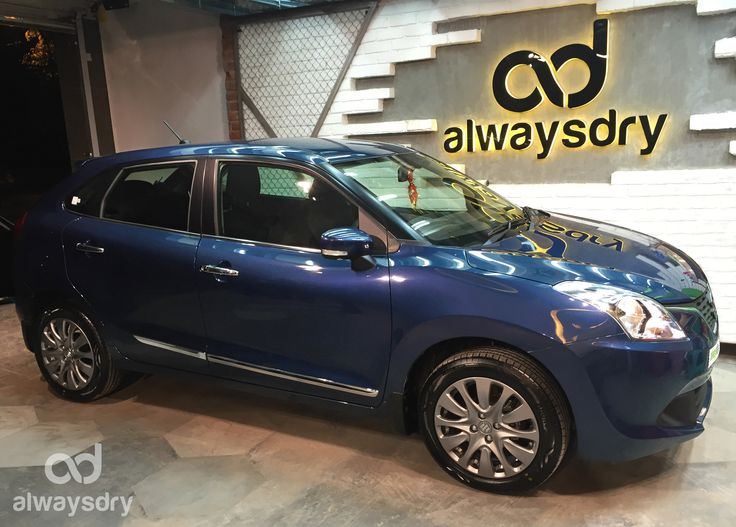 All new #Maruti #Suzuki #Baleno is ready to play the game of shine We do not provide mere gloss but the ultimate paint protection with the world class nano coating – 9H LDC Pro. Always Dry is all about Paint correction Easy maintenance Book now and get your car all shiny for the upcoming years…