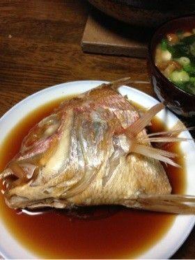 ⭐連子鯛(白身魚)魚の煮付け⭐