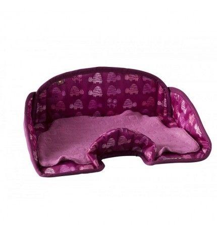 Ochraniacz na fotelik samochodowy Różowe Żółwie