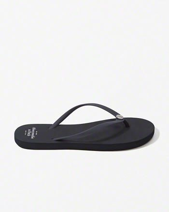 Rubber Flip Flops from Abercrombie & Fitch $24,00