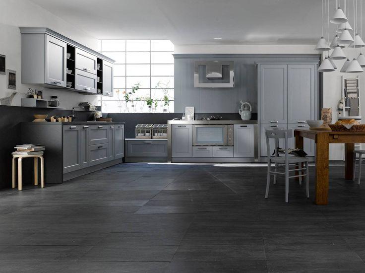 Floor: Artesia Black Uruguay 30x60 Easy Plus #Artesia  #homedecor #homedecoration #pietra #stone #design #interiordesign #kitchen #cucina #casa #home #madeinitaly