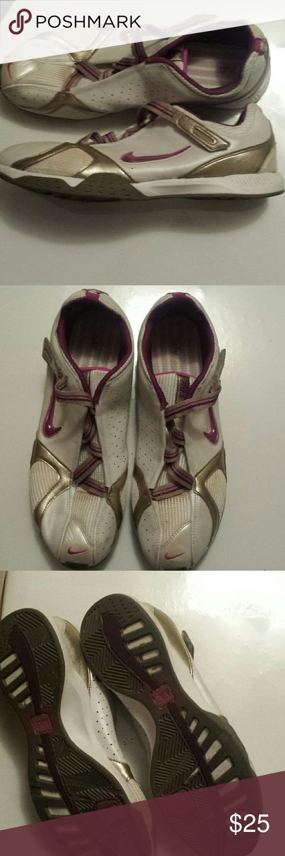 Nike white, purple and pewter shoes Normal wear Nike Shoes Athletic Shoes