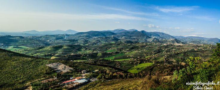 """Panorama da Fara Sabina: un luogo in cui """"annegare"""" lo sguardo ... #landscapes #fotografia"""