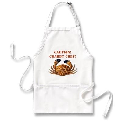 Caution! Crabby Chef!
