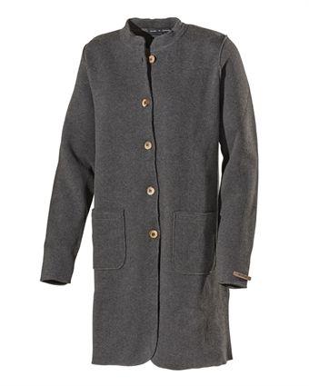 Helene Coat Antracite Melange