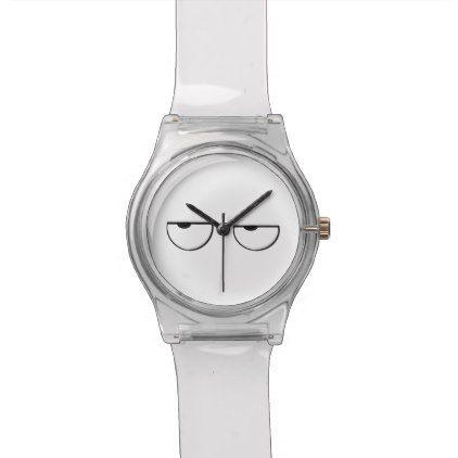 cool cartoon eyes wristwatch - cool gift idea unique present special diy