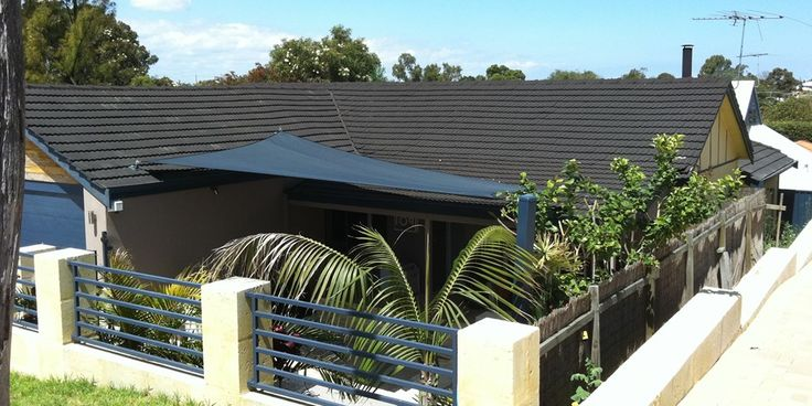 ONE Shade Sails Perth courtyard and Alfresco shade projects