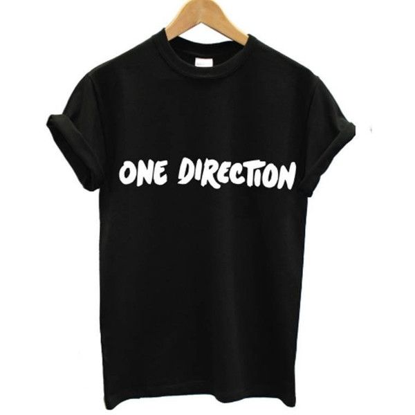 ONE DIRECTION t shirt 5 seconds of summer music 5 sos harry styles... (66.250 COP) ❤ liked on Polyvore featuring tops, t-shirts, shirts, one direction, flat top, summer shirts, baggy shirts, loose shirt and rolled up t shirt