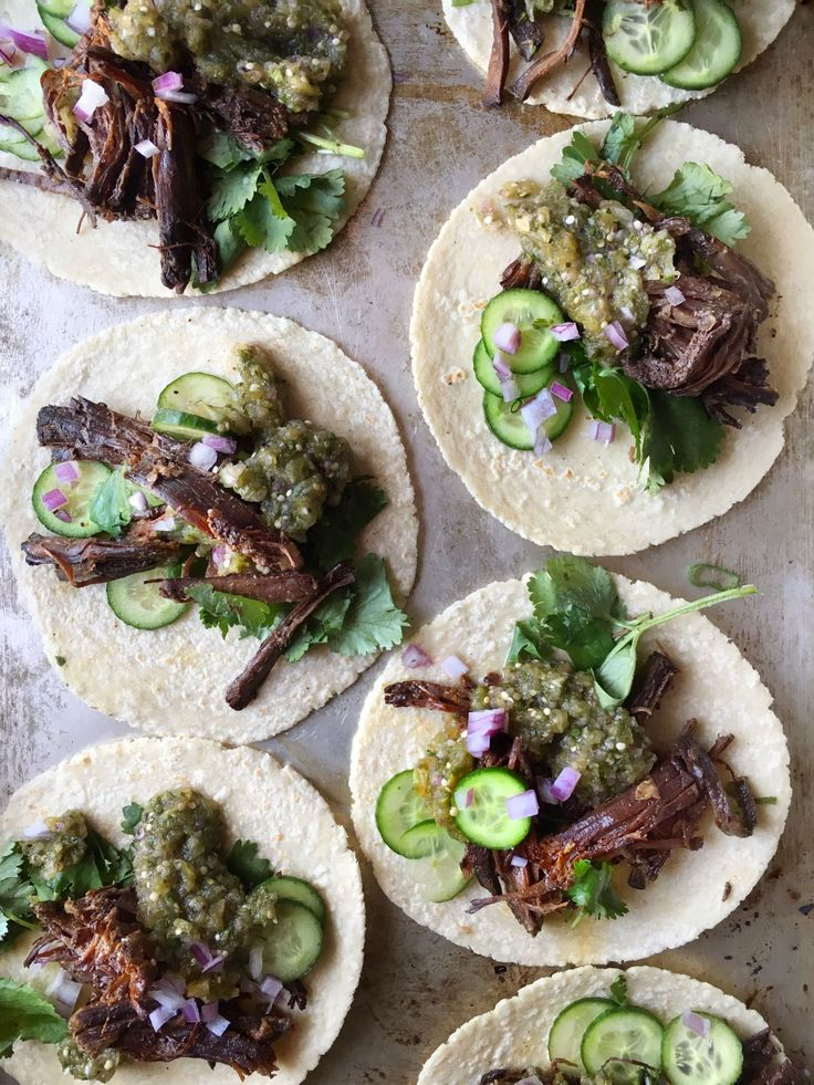 Insanely Easy Weeknight Dinners To Try This Week- Slow cooker Korean beef tacos.