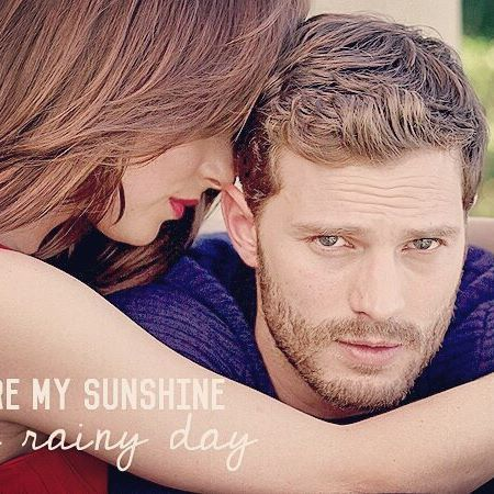 """You are my sunshine on a rainy day."" #lovequotes · Good morning 😘☀❤ ___________________________________________ {#dakotajohnson #anastasiasteele #jamiedornan #christiangrey #teamfifty #love #art #sexy #fiftyshades #fsog #fsd #fsf #fiftyshadesofgrey #fiftyshadesdarker #fiftyshadesfreed #webstagram #follow #love #photooftheday #likeforfollow #like4like #me #cute #smile #cool #art}"