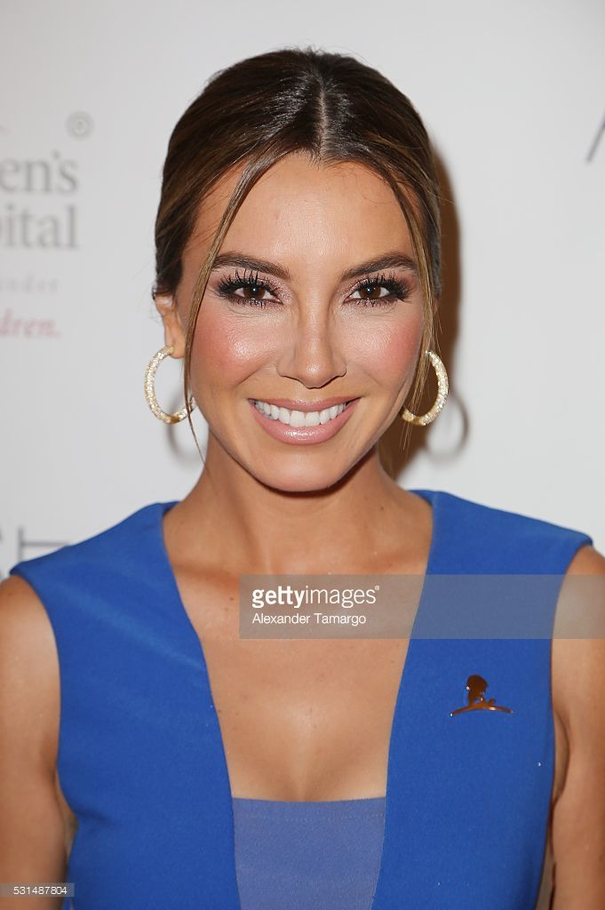 Elizabeth Gutierrez is seen arriving to the St Jude Angels and Stars Gala on May 14, 2016 in Miami, Florida.