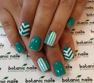 20 + Gel Nail Art Designs, Ideas, Trends & Stickers 2014 | Gel Nails | Fabulous Nail Art Designs by AuBugsMommy14