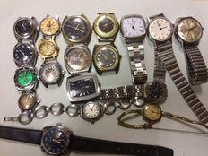 19 relógios de pulso antigos (Vintage)