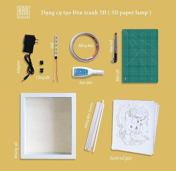BOGO Love [20×26 cm] – 3D Paper Cutting Light Box SVG Template files, 3D Shadow box Template SVG files