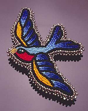 Nome May - Swallow - beautiful intricate work :)