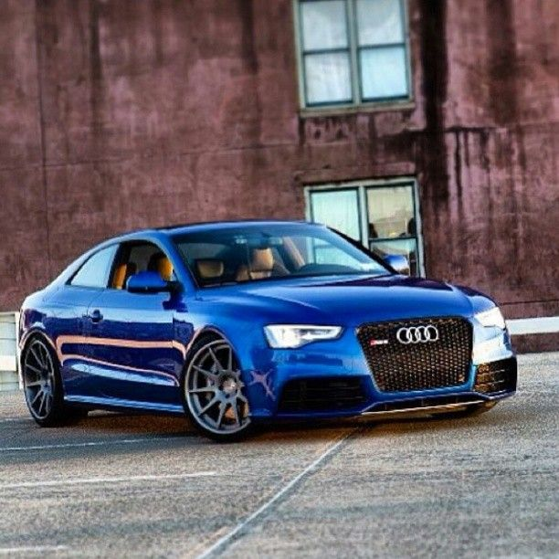 Beautiful Audi RS5 . how good do these look,   just magic