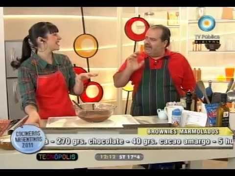 Recetas que no ensucian: Pechugas rellenas y brownies marmolados. - Recetas – Cocineros Argentinos
