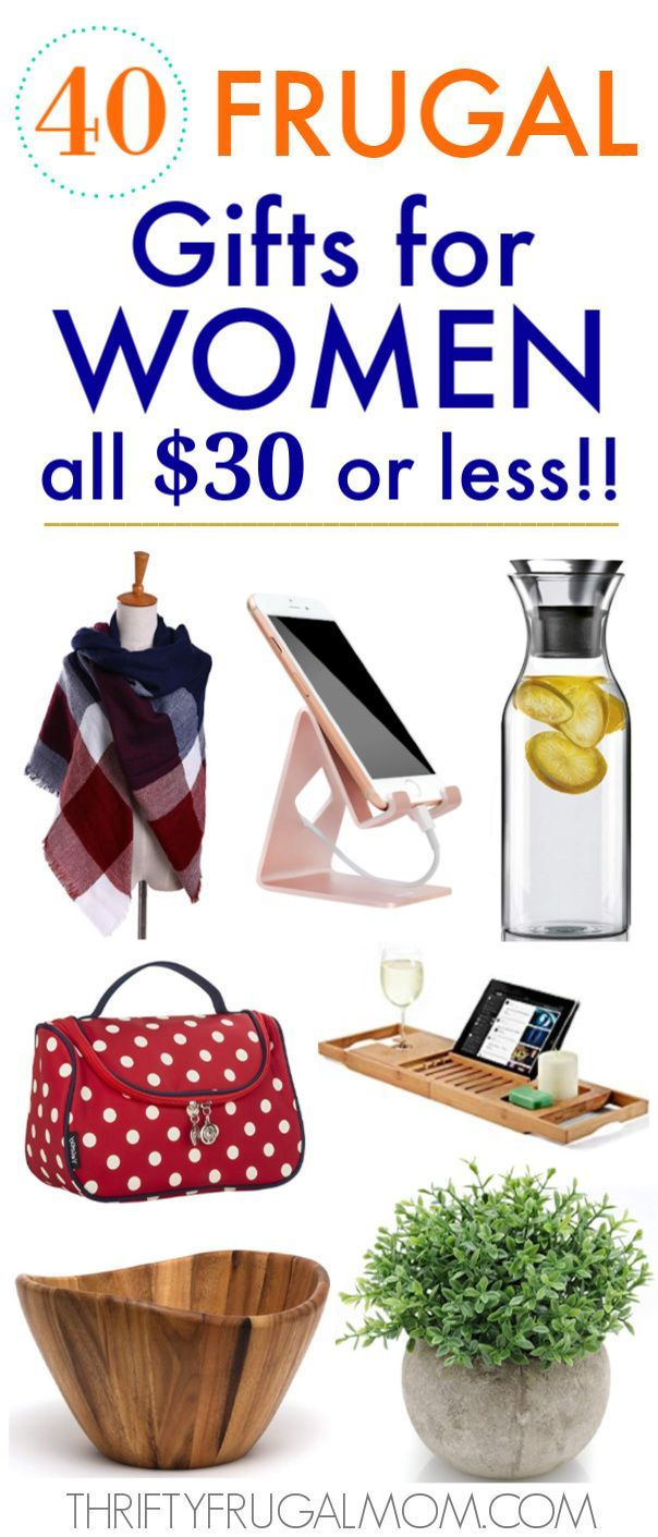 40 Frugal Gifts for Women that Cost 30 or Less Gifts