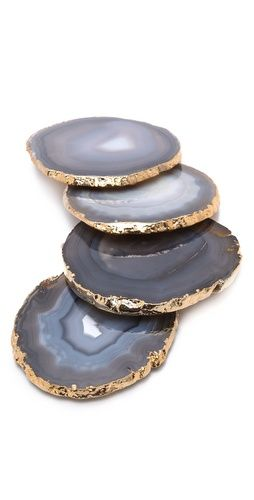 Gift Boutique RABLABS Lumino Gilded Coasters |SHOPBOP | Save up to 25% Use Code BIGEVENT13