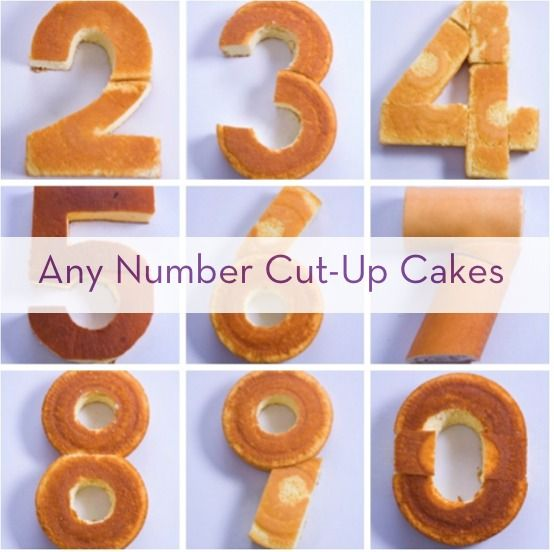 How To Create Any Number With Store-Bought Cakes » Curbly |