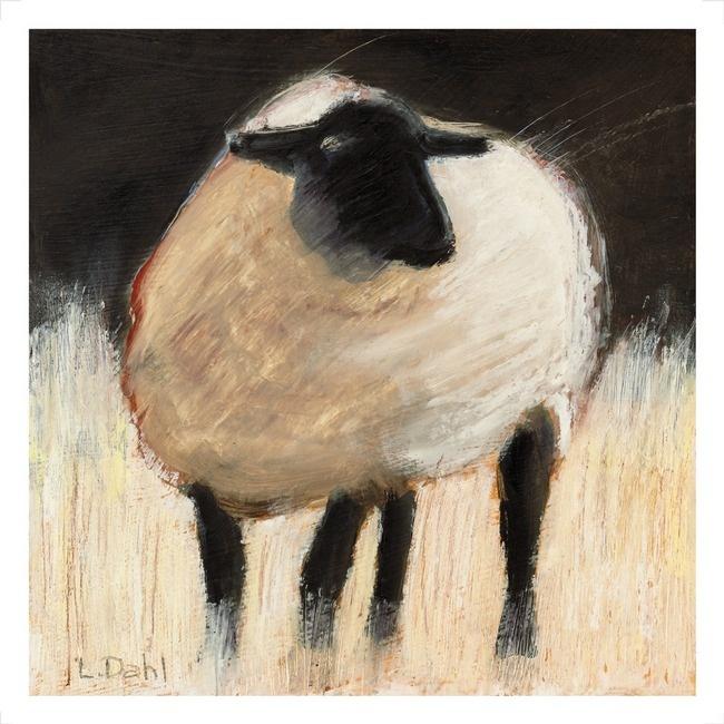 Suffolk Sheep  by Lois Dahl, Bellingham