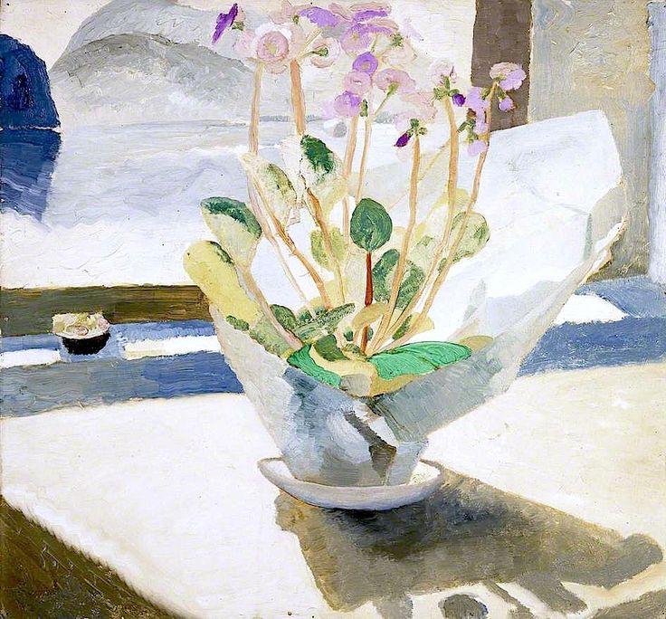 Primulas by Winifred Nicholson