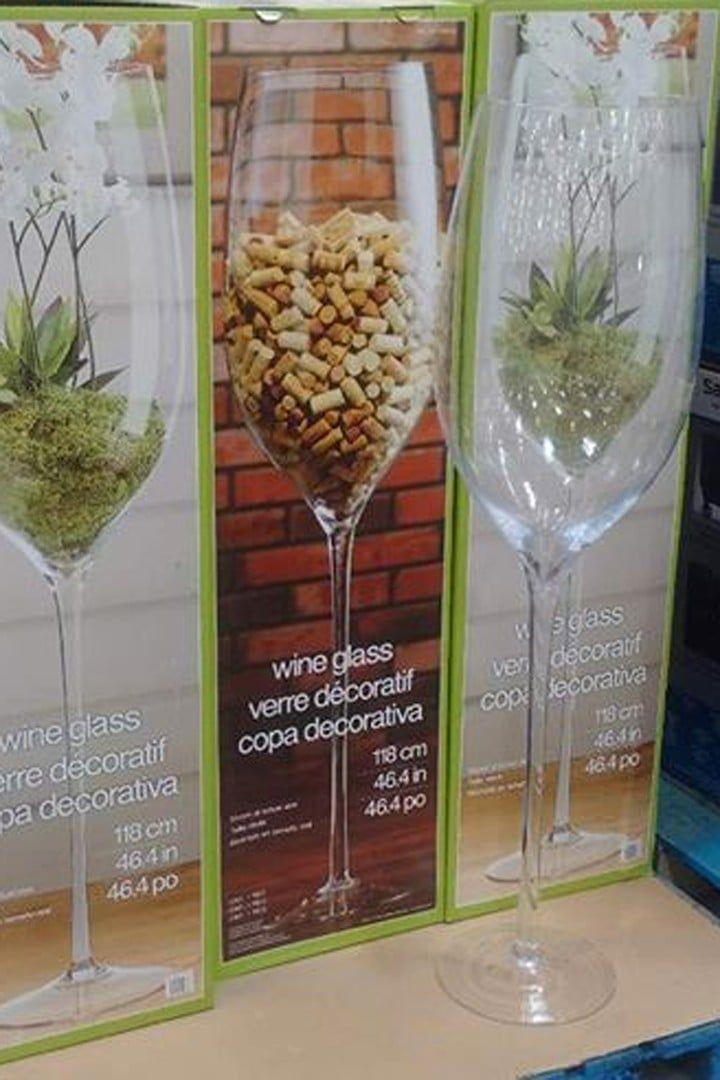 Giant Wine Glass, Jumbo Wine Glass Costco