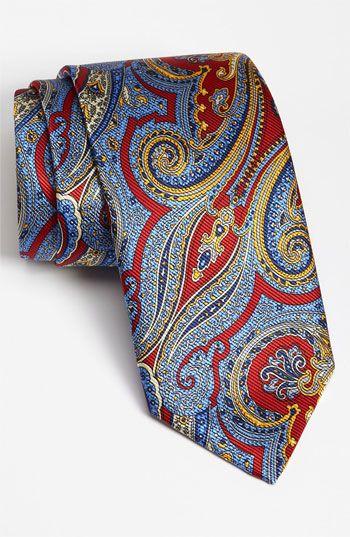 Robert Talbott Woven Silk Tie   Nordstrom