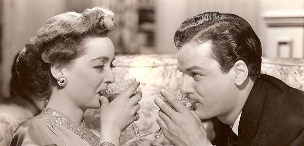 """Bette Davis and Gig Young in """"Old Acquaintance"""" (1943)"""