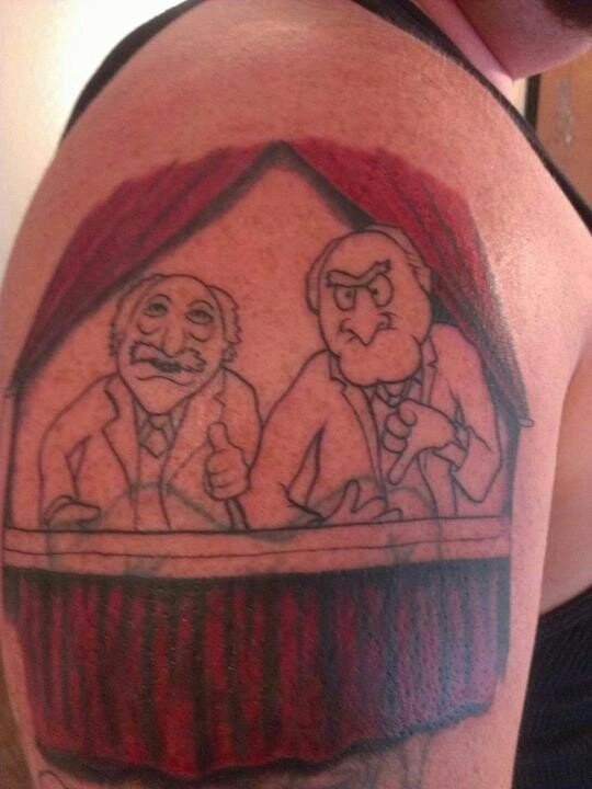 17 best images about muppets tats on pinterest the muppets miss piggy and cartoon tattoos. Black Bedroom Furniture Sets. Home Design Ideas