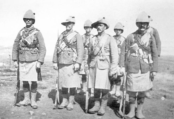 Black Watch Boer War 1900.. Great Grandfather F Brodie served in this conflict.