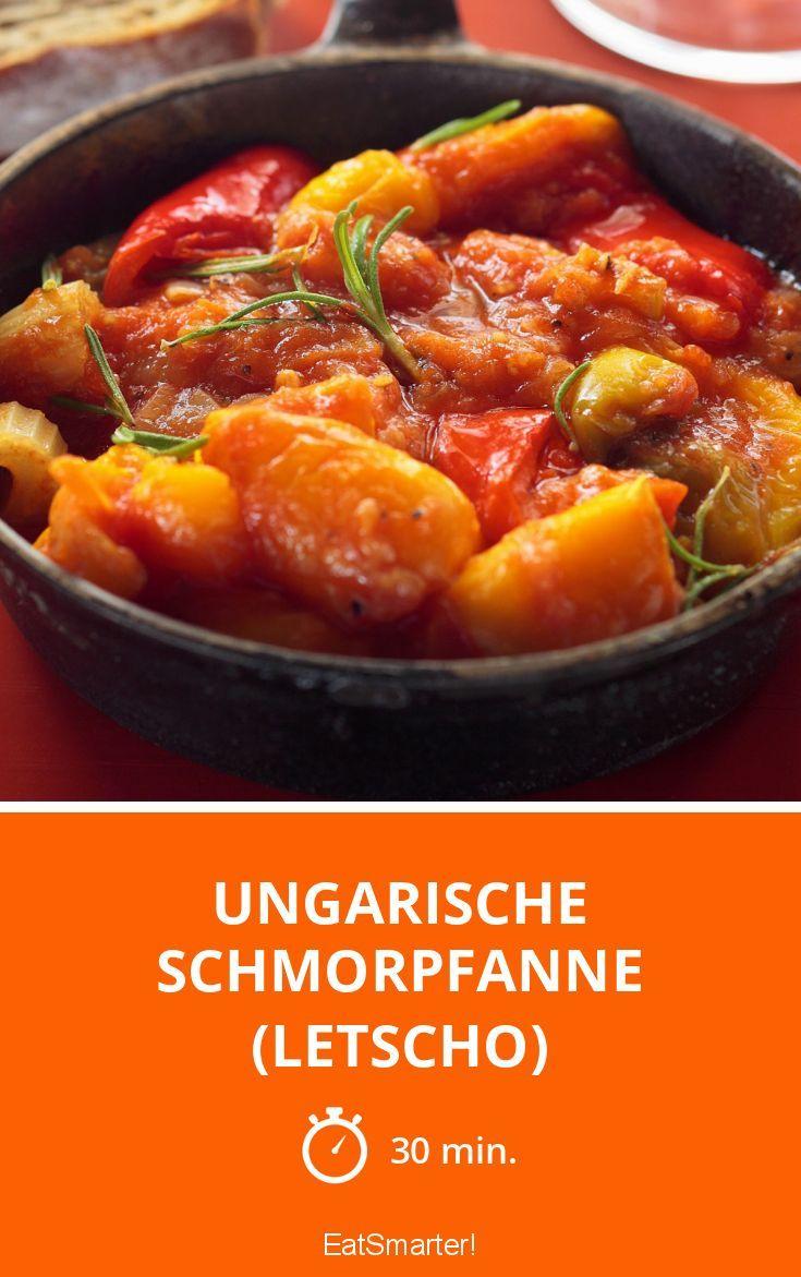 Ungarische Schmorpfanne (Letscho) - smarter - Zeit: 30 Min. | eatsmarter.de