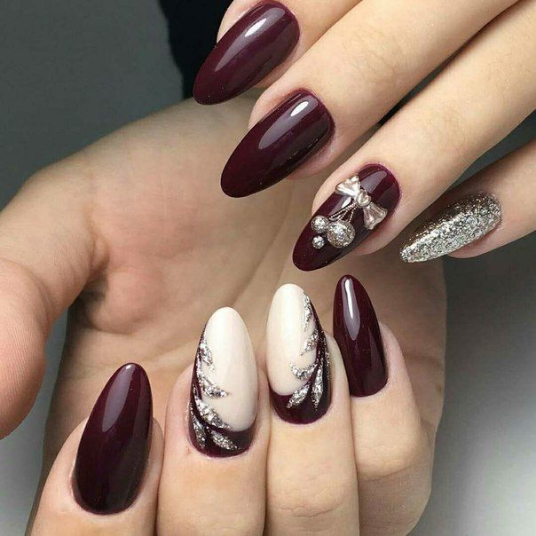 Princess Nail Art Salon Manicure Game For Girls Free: Best 25+ Red Christmas Nails Ideas On Pinterest
