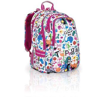 Plecak do szkoły od 2 do 3 klasy. Dziewczynki uwielbiają zwierzątka, a te od Topgalu są wprost przesłodkie :-)