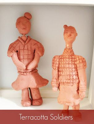 Marie's Pastiche: Ancient China: The First Emperor Qin & His Terracotta Warriors (With book reviews and activity)