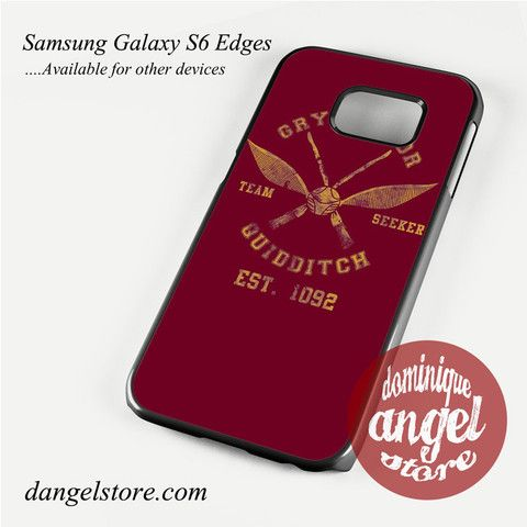 gryffindor-quidditch-seeker Phone Case for Samsung Galaxy S3/S4/S5/S6/S6 Edge Only $10.99
