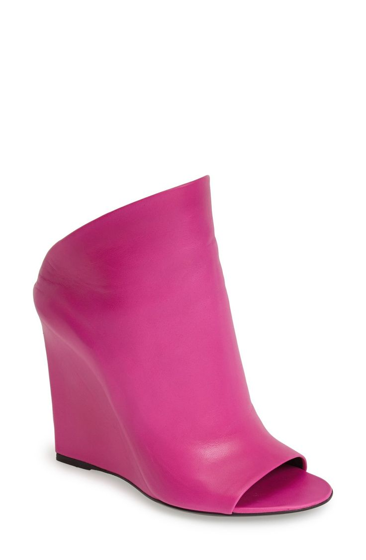 Hot Pink Wedge Tennis Shoes