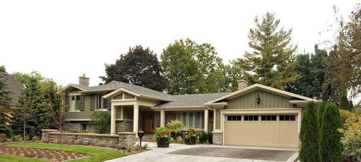Unbelievable update on a split level portfolio for Side split house designs