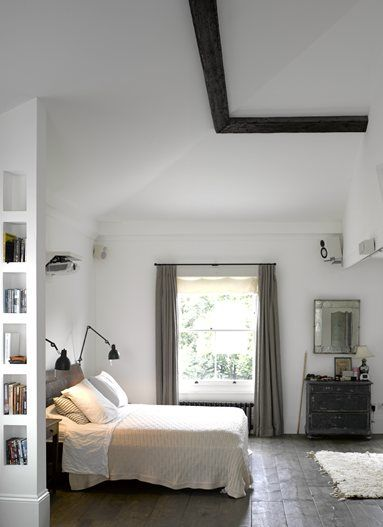 Highbury Hill - London, Regno Unito - 2012 - ben adams architects #bedroom #design #interiors