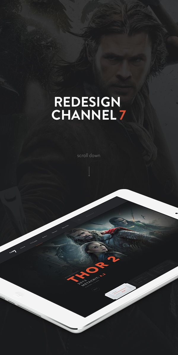 Channel 7 on Behance