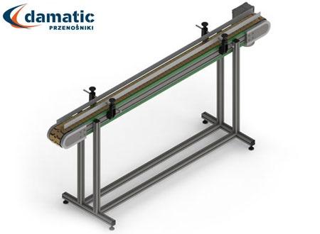 Przenośniki z łańcuchem płytkowym najczęściej są stosowane do transportu opakowań szklanych.