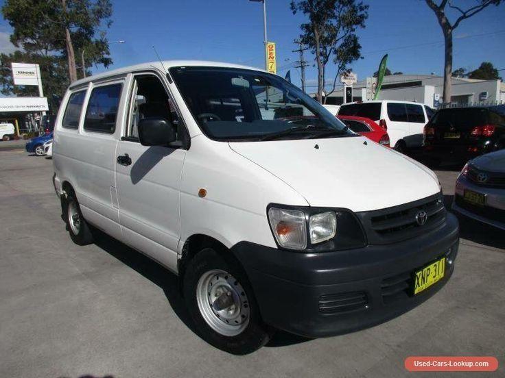 2001 Toyota Townace KR42R White Manual 5sp M Van #toyota #townace #forsale #australia