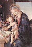 Madonna of the Book (Madonna del Libro) c. 1483  by Sandro Botticelli (Alessandro Filipepi)