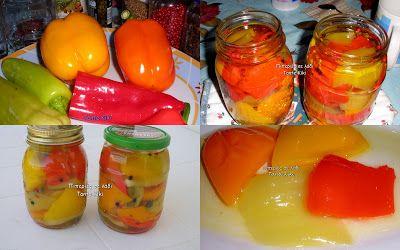 Tante Kiki: Πιπεριές σε λάδι