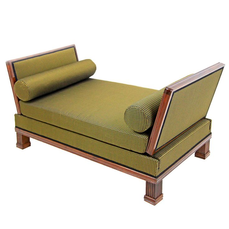French Art Deco Daybed / Recliner From The 1920s