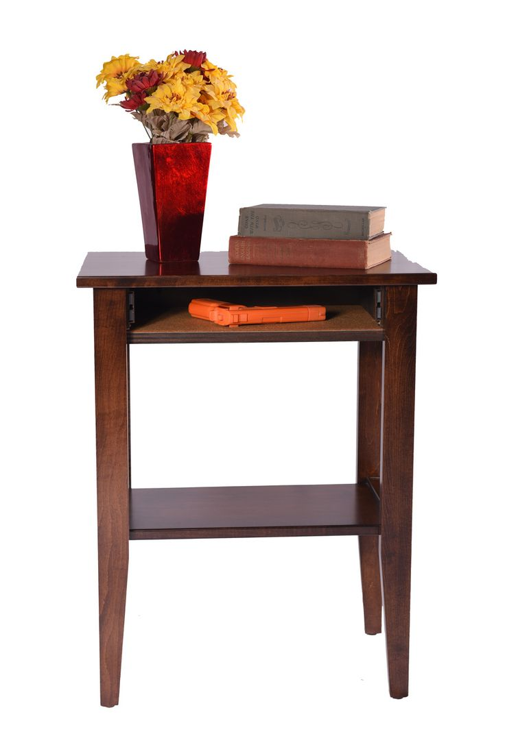Small Accent Table   Secret Compartment Furniture
