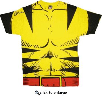 X-Men Wolverine Costume T-shirt, $17.95
